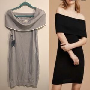 Wilfred free size large off the shoulder grey